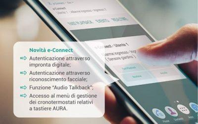 Accesso tramite dati biometrici all'App per il tuo antifurto